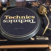 technics sl- 1200 gld gold limited edition
