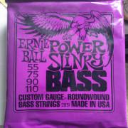 Juego de bajo de 4 cuerdas Ernie Ball Power Slinky