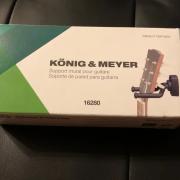 K&M 16280 - Soporte para guitarra - Konig & Meyer: