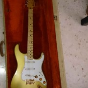 Fender Stratocaster Gold año 1982 Limited Edition