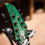 Mayones Duvell Elite Matching Headstock