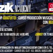 Workshop Producción musical gratuito