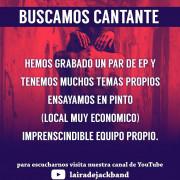 Cantante rock/metal Madrid sur