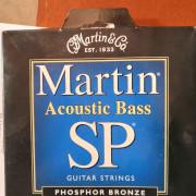 Cuerdas bajo acústico. Martin.