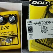 DOD OVERDRIVE PREAMP 250 ANALOGMAN MOD.