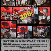 Batería Ringway TD-90 II