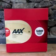 Sabian AAX Performance Set (14 hats / 16 + 18 Crash / 20 ride)