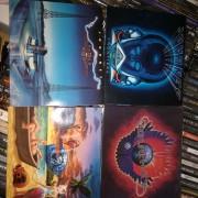 4 CDs de Journey remasterizados.