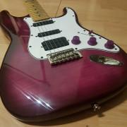 Stratocaster modificada