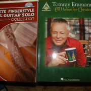5 Libros de Fingerpicking Partitura y tablatura CD incluido
