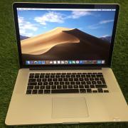 MacBook Pro 11,4 Retina, 15,4 pulgadas, I7 2,2 Ghz 4 núcleos, 16 Gb RAM, 256 SSD, 63 ciclos bateria