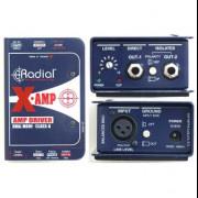 Radial x-amp, caja de reamp activa