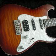 AFJ Guitars Superstrato Custom