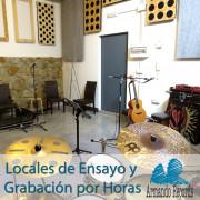 Salas -Locales de Ensayo - Grabación.