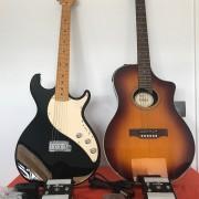 Variax Black y Variax Acoustic