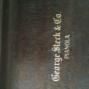 Piano de cola George Steck & Co aprox año 1920