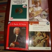 4 Libros de Guitarra Clásica ( Partitura, + CD)