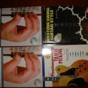 4 Libros de Guitarra Fingerpicking ( Partitura, TAB+ CD)