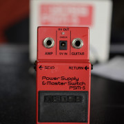 Boss Power Supply Master Switch PSM-5 alimentador looper switcher