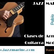 Clases de Guitarra, Armonía e Iniciación al Jazz