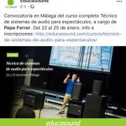 Curso Pepe Ferrer en Malaga