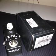 MOSKY Mini Pedal Atenuador Vol Pedal De Efectos De Guitarra Electrica con V L8R7