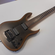 Ran Crusher FT727 Custom Made Satin Reverse Blackburst neck thru como nueva