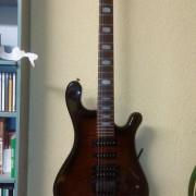 guitarra y bajos