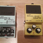 Boss ce5 Chorus ensemble y boss sd1