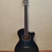 Guitarra Electroacústica Azúl
