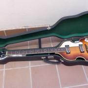 Höfner 500/1 Violin Bass made in Germany con estuche
