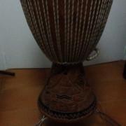 Djembe Senegalés artesanal