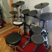 Bateria Electronica Roland TD6 KW 100% completa