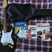 Guitarra tipo Stratocaster