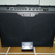 Line6 Spider III 150w + Pedal Footswitch