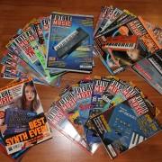 Colección Revistas+CD/DVD Future Music desde 1996 hasta 2011