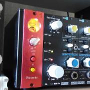 SSL 9000 Preamp, Serie 500 (Enlace de Prueba de AUDIO Vs API)