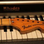 Mástil Fender Stratocaster de arce original de 1975.