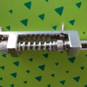 Estabilizador de tremolo o puente para eléctricas en aluminio GOLDO