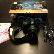 Cámara Nikon D40 + Objetivo 18-55mm + SD 2Gb