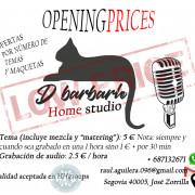 Humilde Home Studio en Segovia Ciudad abierto al público