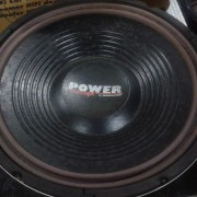 "Subwoofer 12"" para coche Monacor 450 watt"