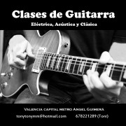 Clases de Guitarra Electrica en Valencia