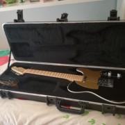 Fender Telecaster american Deluxe Montego black
