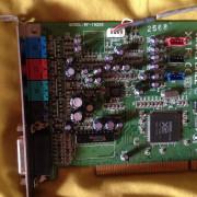 Yamaha waveform 192 XG PCI sound car