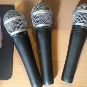 3 microfonos marca t.bone