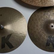zildjian K/K custom 13' hh