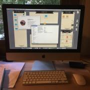 "iMac 21,5 "" mid 2011 i5 Quad Core 2,50ghz 20 GB RAM"