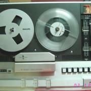 Grabador Philips vintage (cambio por material guitarril)