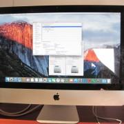 """iMac 21"""" de 2011 quad core con SSD y HDD"""